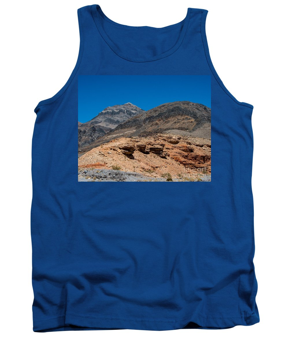 Death Valley Tank Top featuring the photograph The Hillside by Stephen Whalen