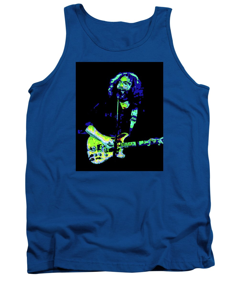 Grateful Dead Tank Top featuring the photograph The Inspirational Light by Ben Upham