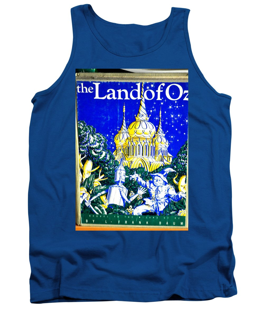 Cover Tank Top featuring the photograph The Land Of Oz by Jay Milo