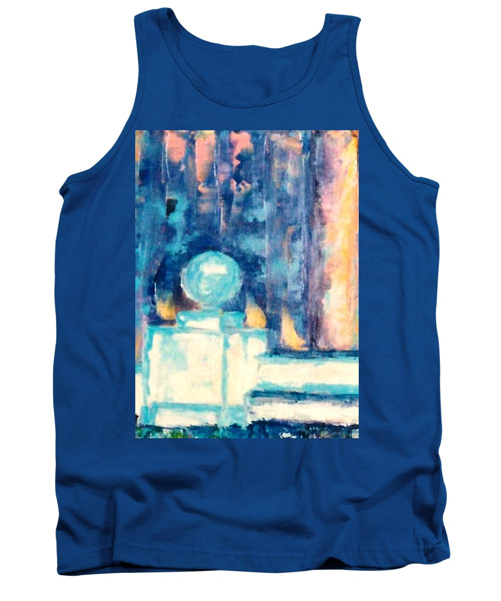 Lyle Tank Top featuring the painting The Wall by Lord Frederick Lyle Morris - Disabled Veteran