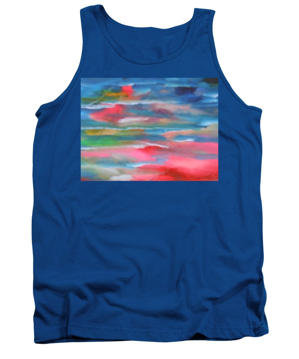 Water Tank Top featuring the painting Time by Lord Frederick Lyle Morris
