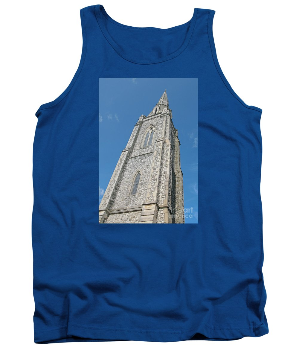 England Tank Top featuring the photograph Towering by Ann Horn