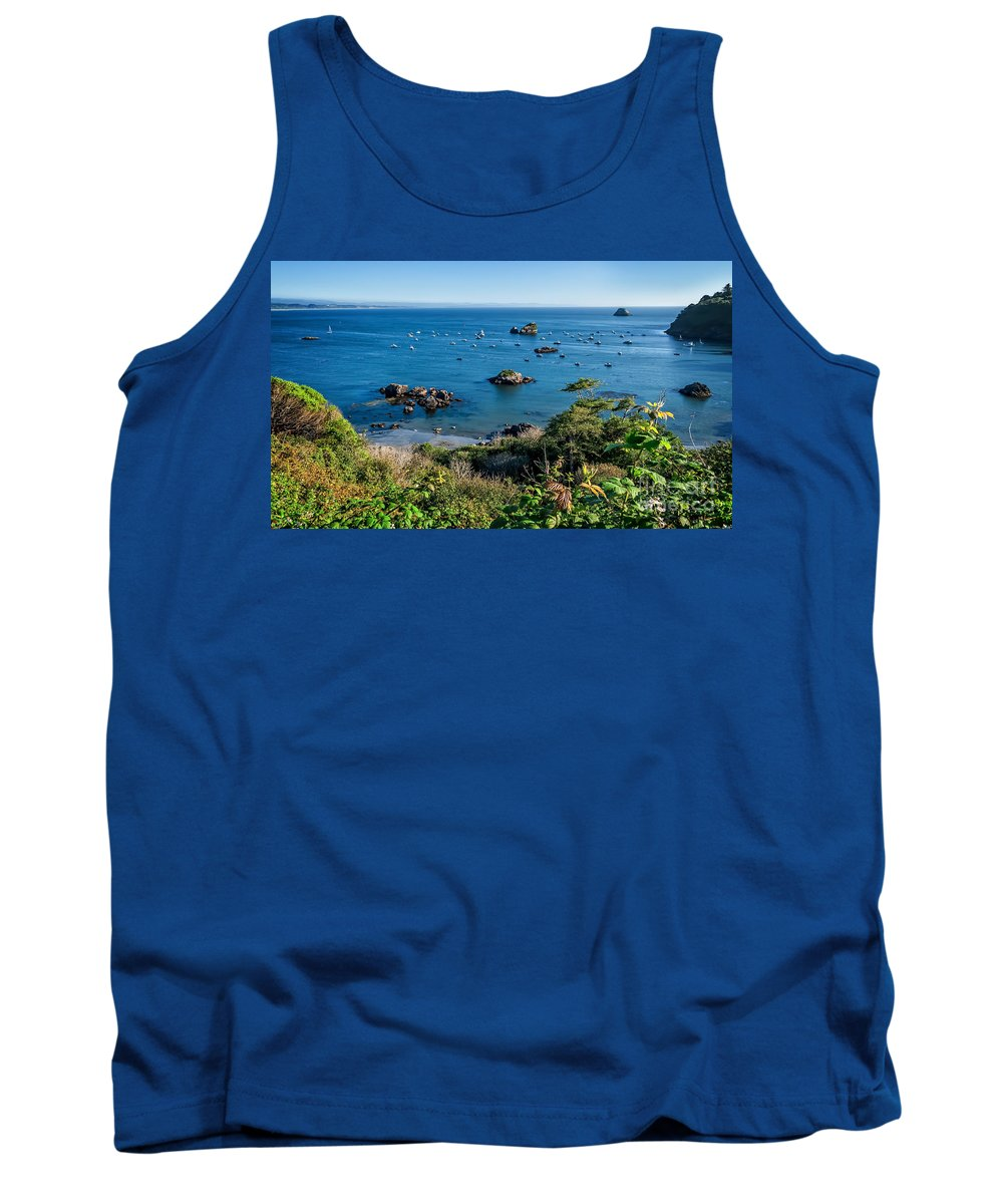 Trinidad Tank Top featuring the photograph Trinidad Harbor by Dianne Phelps
