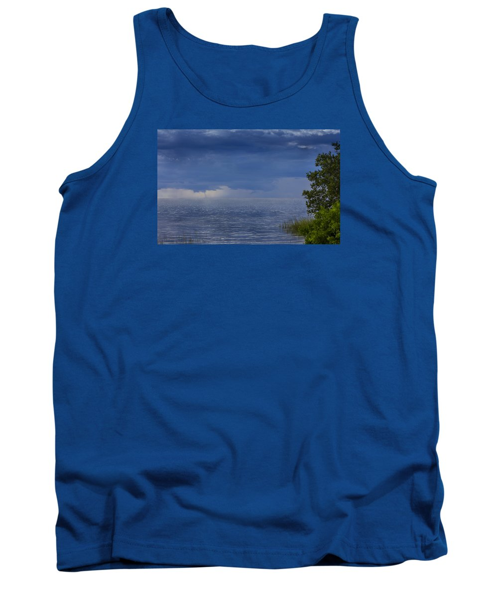 Waterspout Tank Top featuring the photograph Twisting Water by Marvin Spates