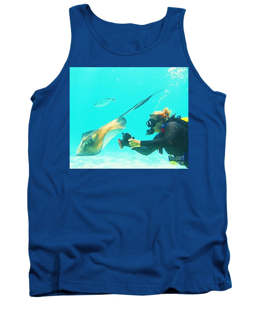Jsm Fine Arts Tank Top featuring the photograph Underwater Photography by Halifax Artist John Malone