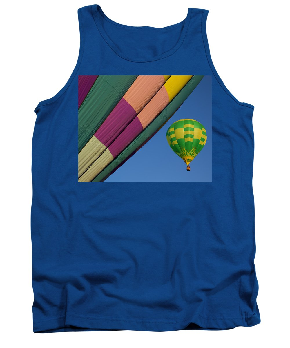 Colorful Tank Top featuring the photograph Up And Away by Linda D Lester