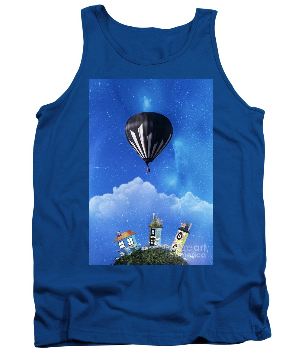 Activity Tank Top featuring the photograph Up Through The Atmosphere by Juli Scalzi