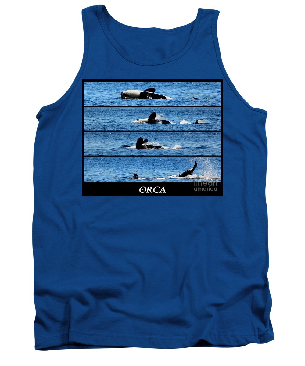 Whale Tank Top featuring the photograph Whale Of A Time by Traci Law