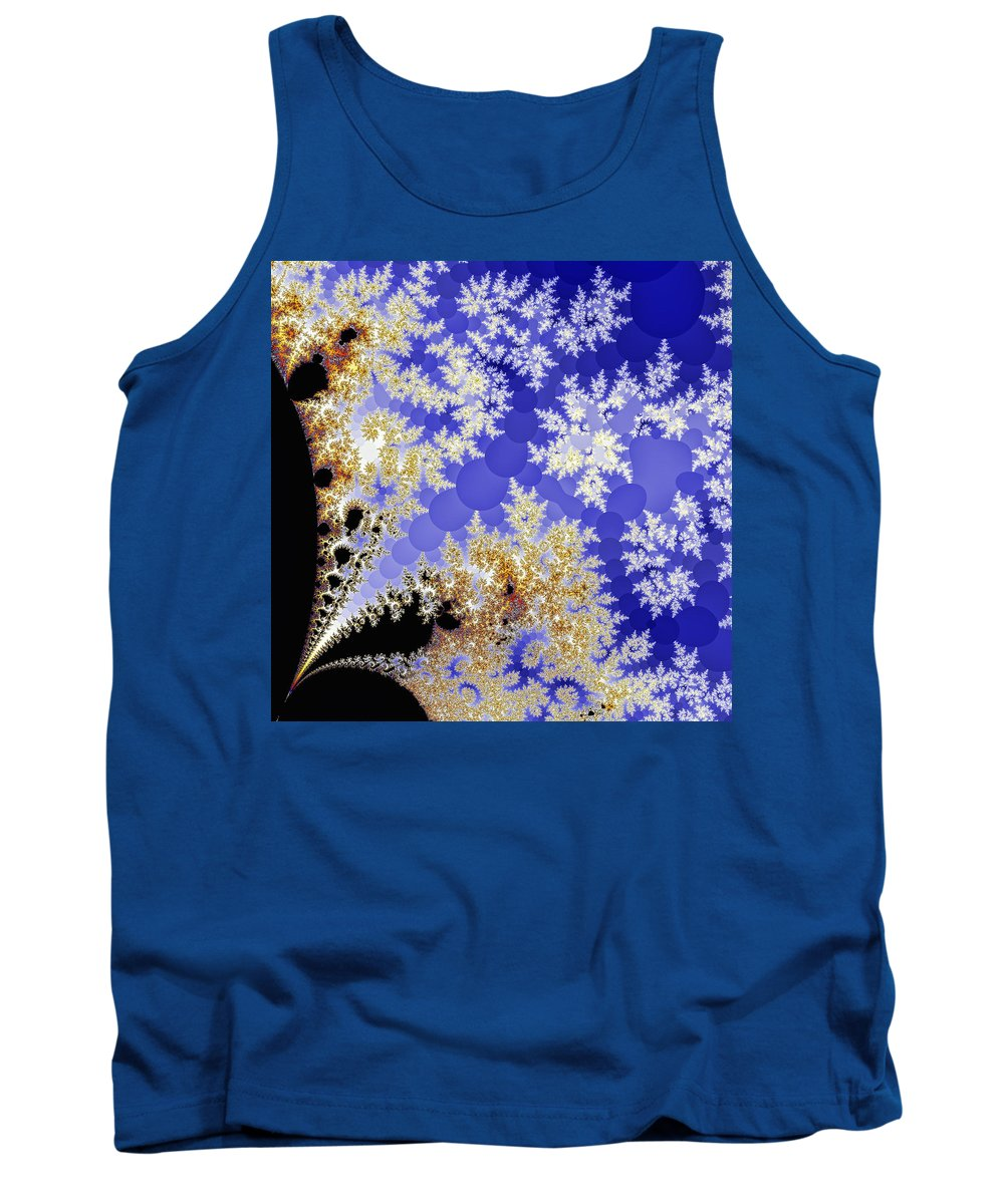 Fractal Tank Top featuring the photograph Winter Morning by Sylvia Thornton