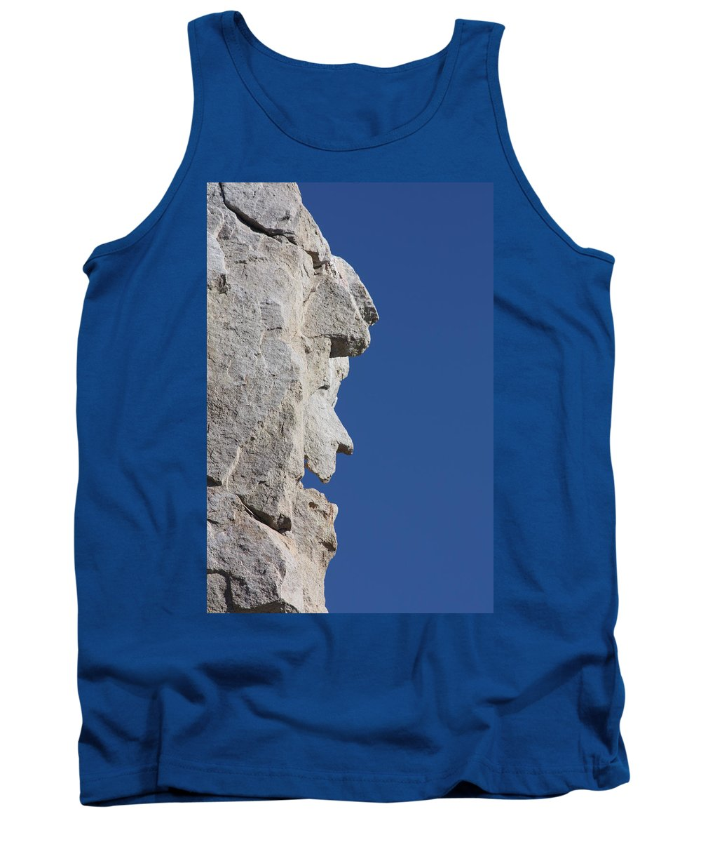 Witch Tank Top featuring the photograph Witch Rock by Shane Bechler