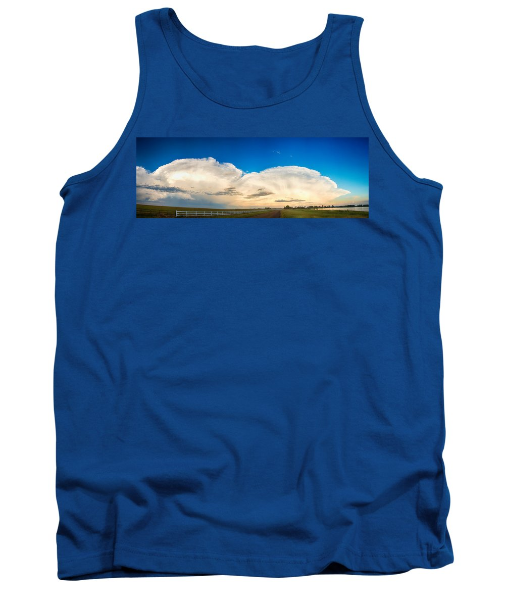Cumulonimbus Tank Top featuring the photograph You Are Welcome by James BO Insogna