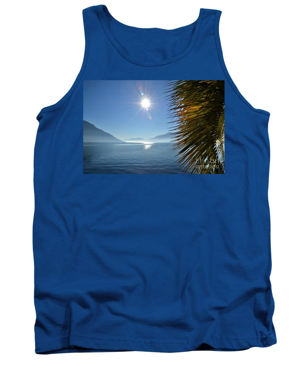 Palm Tank Top featuring the photograph Palm Leaves by Mats Silvan