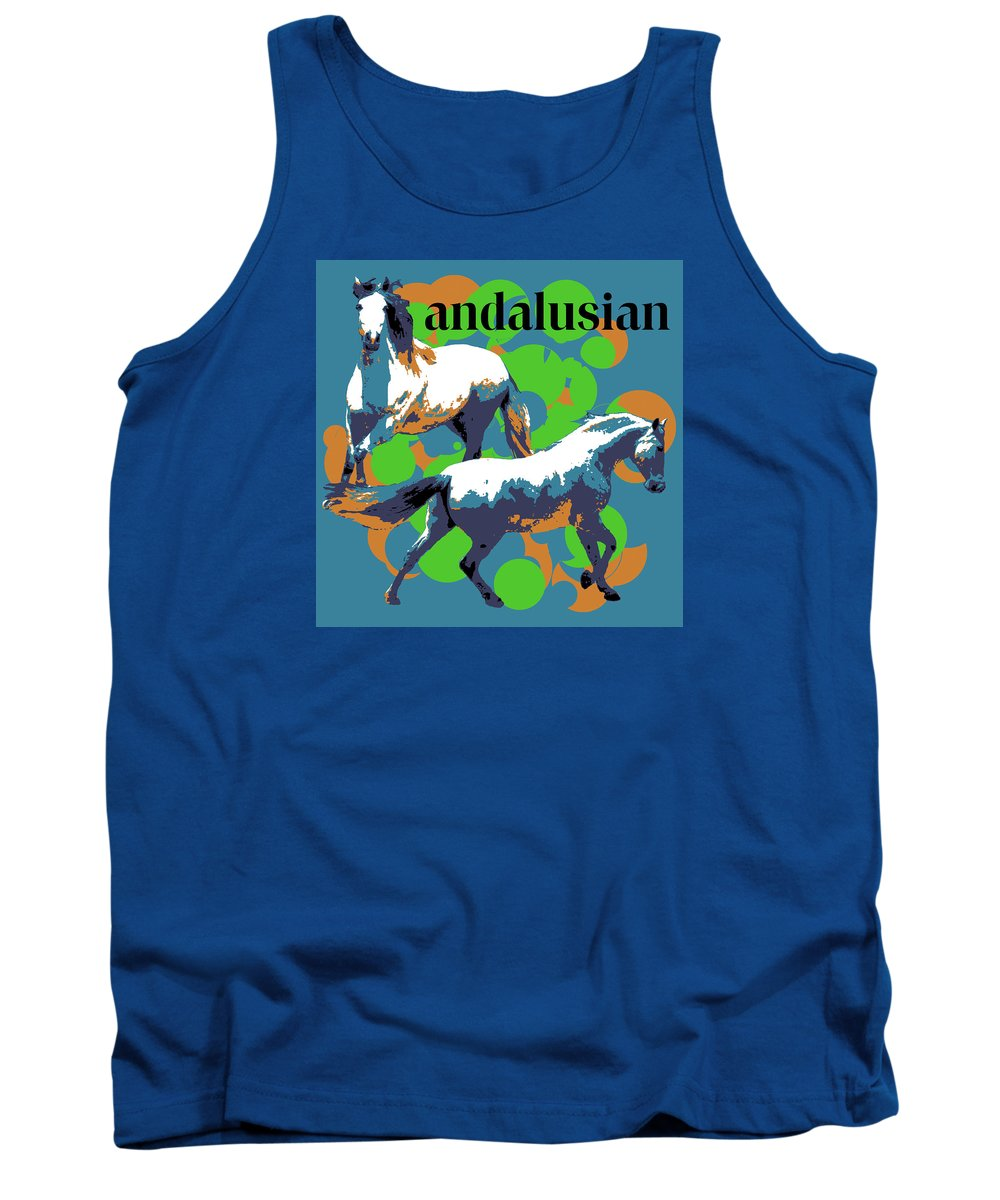 Andalusian Tank Top featuring the photograph Andalusian by Vicki Podesta