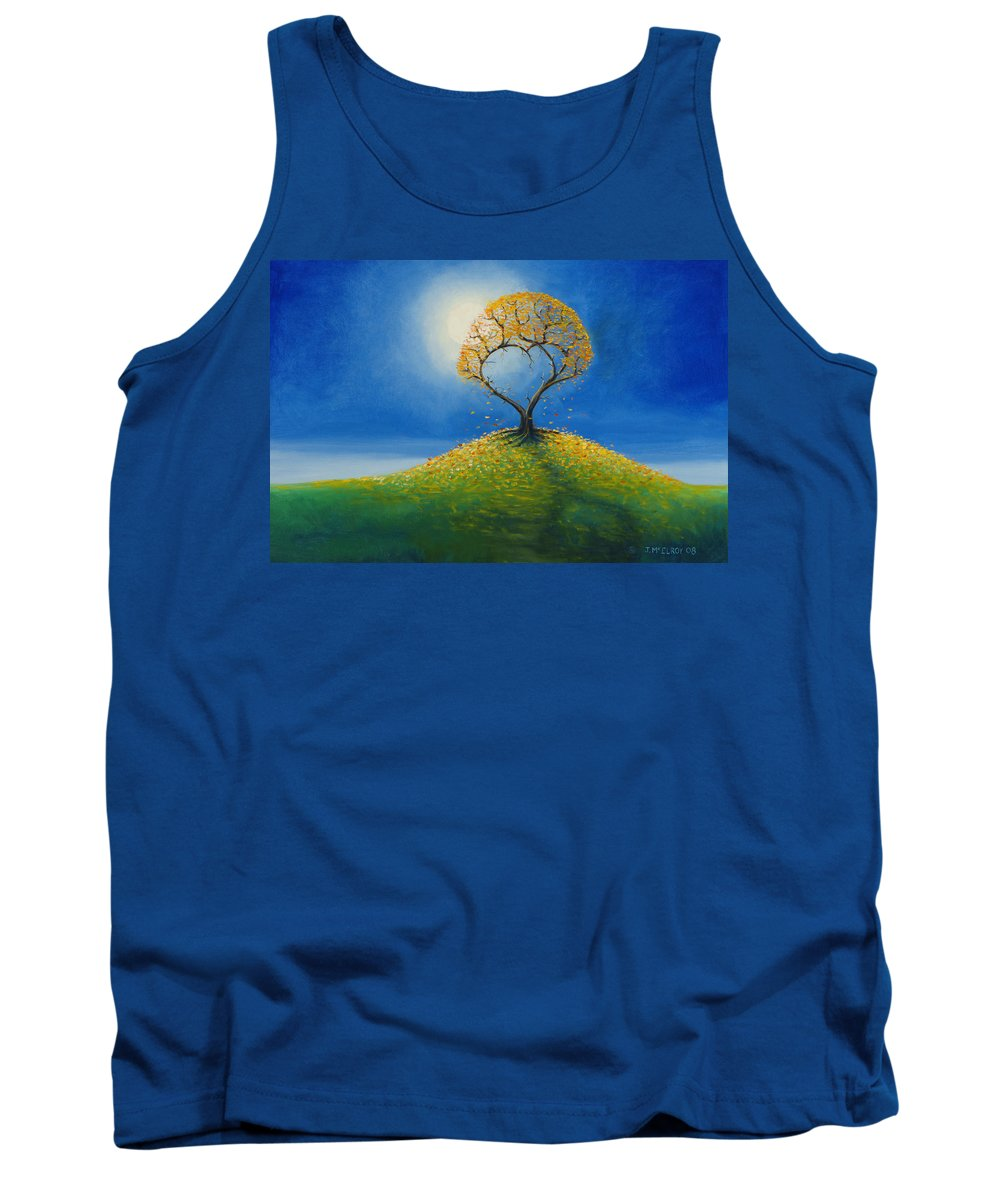 Love Tank Top featuring the painting Falling For You 2 by Jerry McElroy