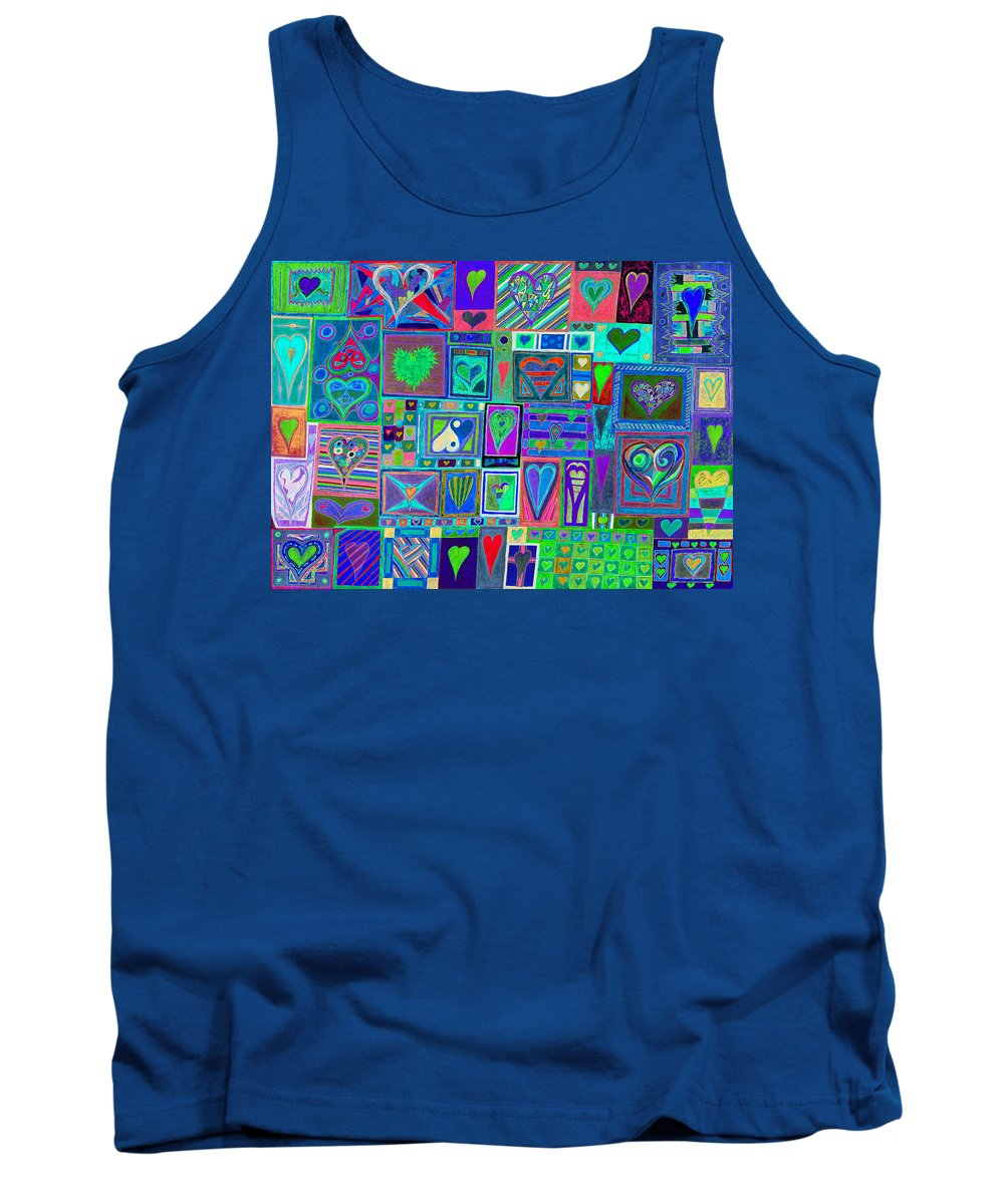 Find U'r Love Found Tank Top featuring the photograph find U'r Love found  v13 by Kenneth James