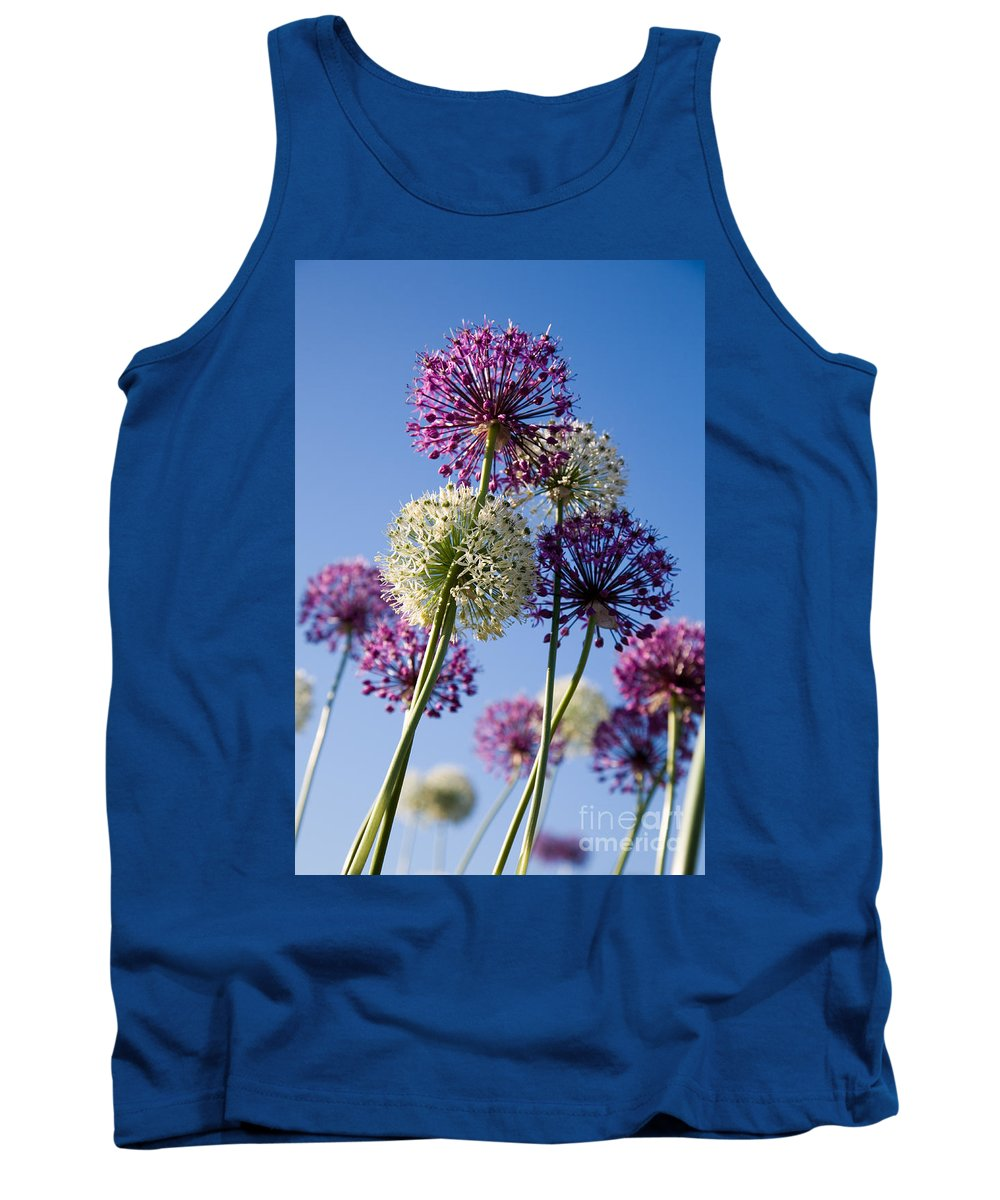 Flower Tank Top featuring the photograph Flowers by Kati Finell