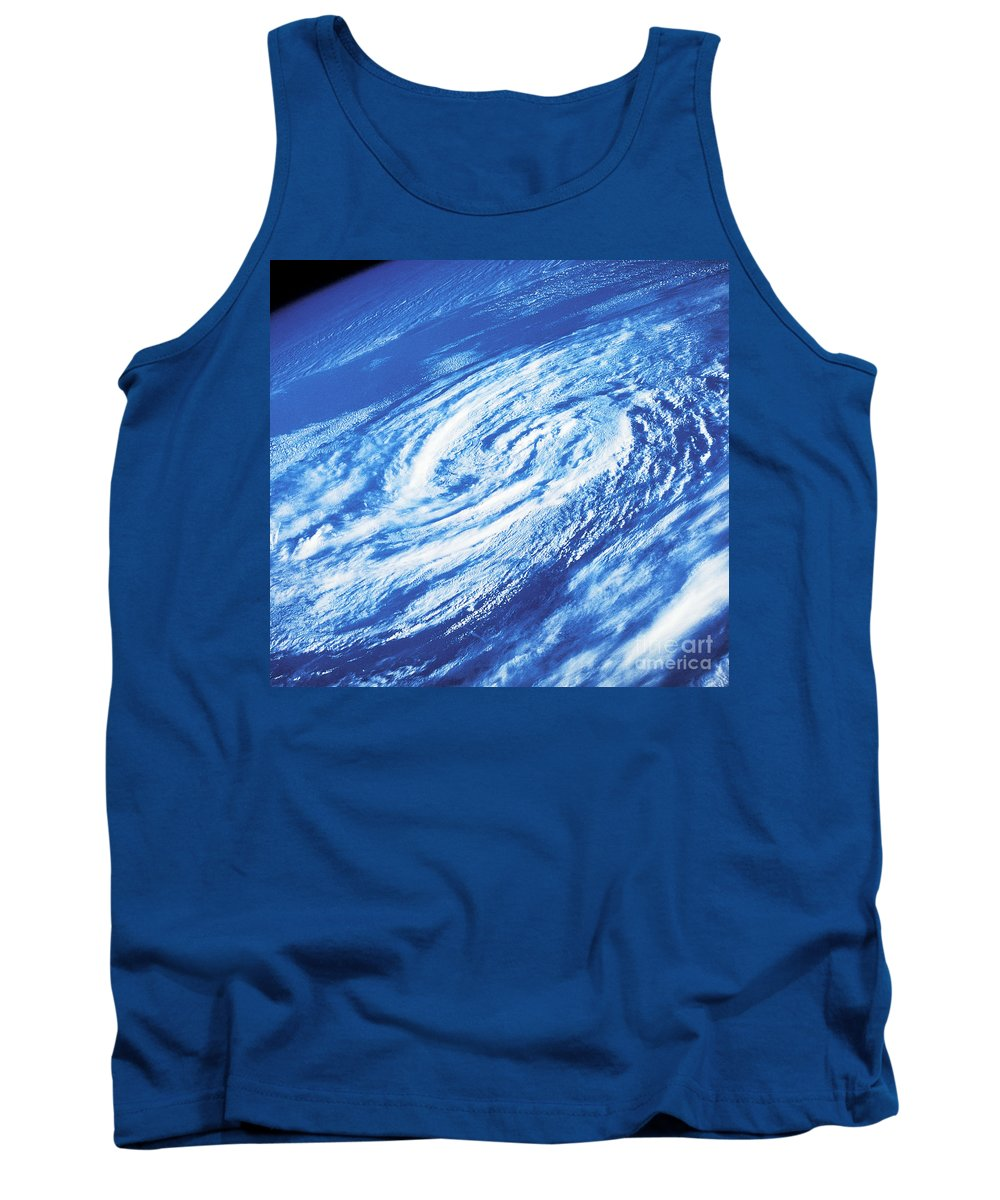 Hurricane Juan Tank Top featuring the photograph Hurricane by Science Source