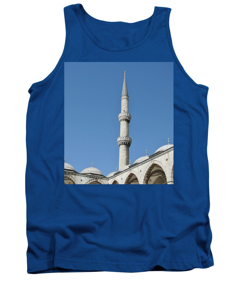 Istanbul Tank Top featuring the photograph Istanbul by Ian MacDonald