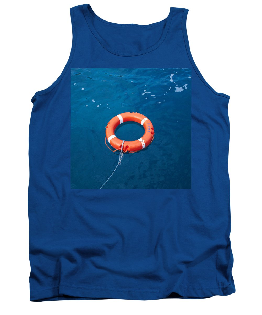2012 Tank Top featuring the photograph Life Buoy by Jouko Lehto