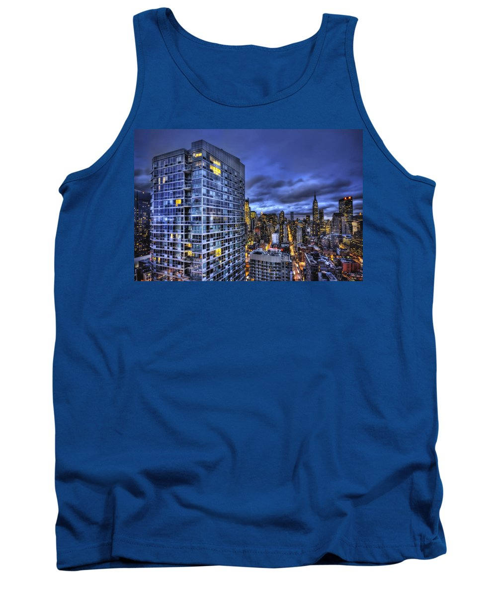 New York Tank Top featuring the photograph Major Highs And Manic Lows by Evelina Kremsdorf