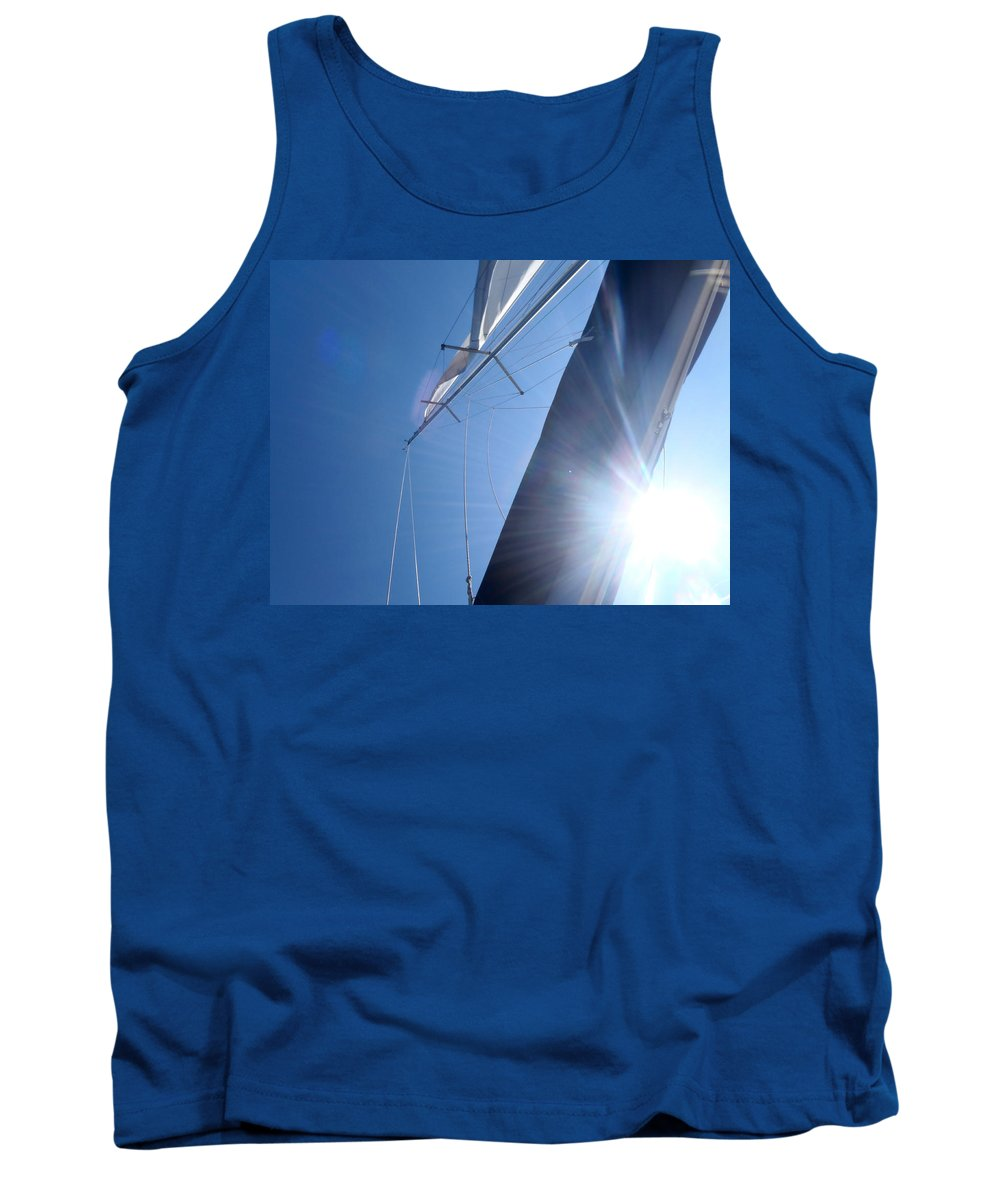 2012 Tank Top featuring the photograph On The Way To Ilovik by Kukka Lehto