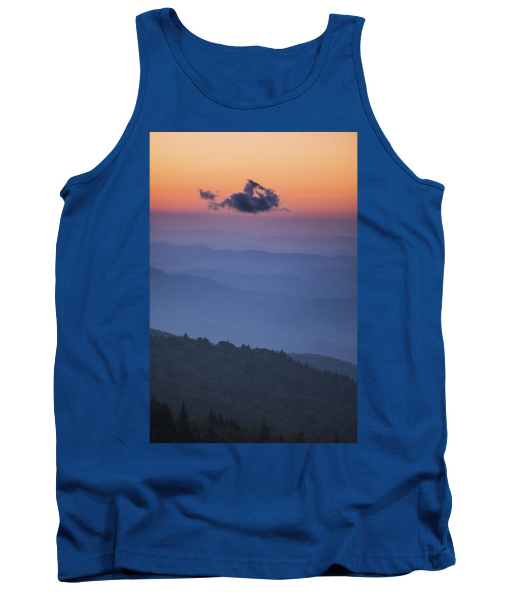 2000s Tank Top featuring the photograph One Cloud by Joye Ardyn Durham