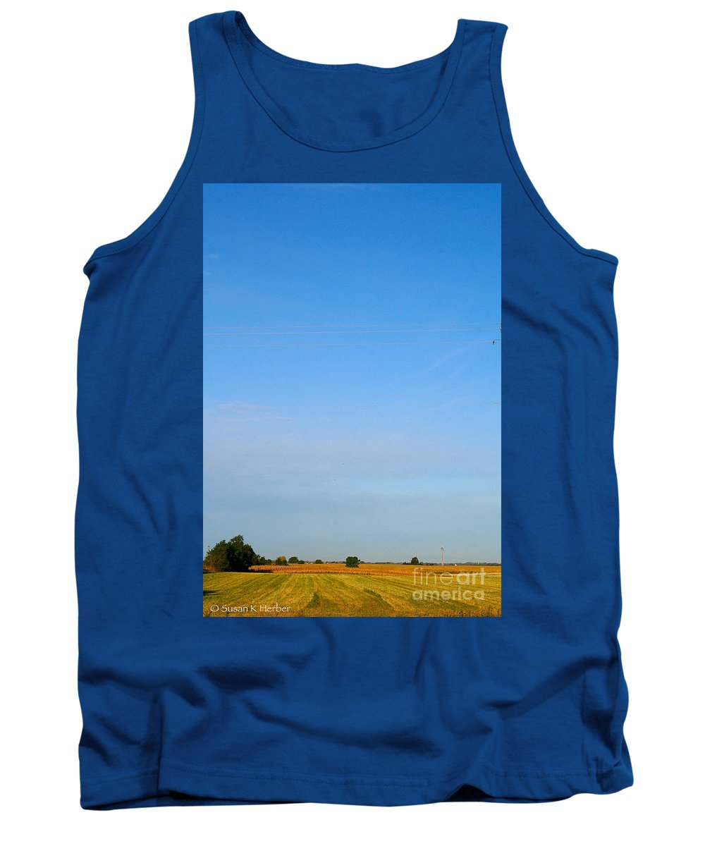 Landscape Tank Top featuring the photograph Open Air by Susan Herber
