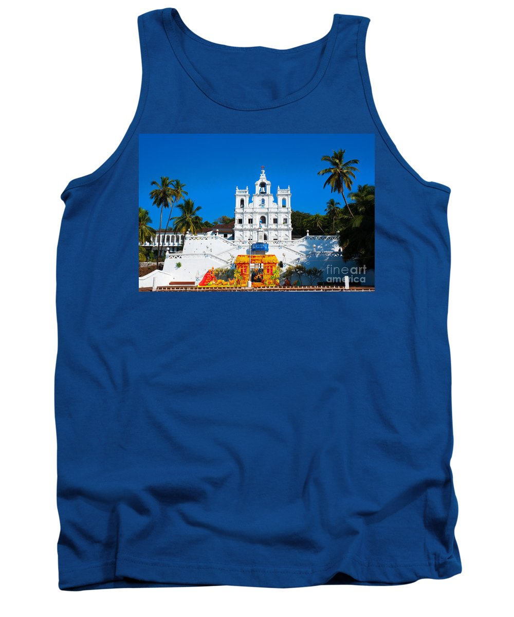 Church Tank Top featuring the photograph Pray For Me by Dattaram Gawade