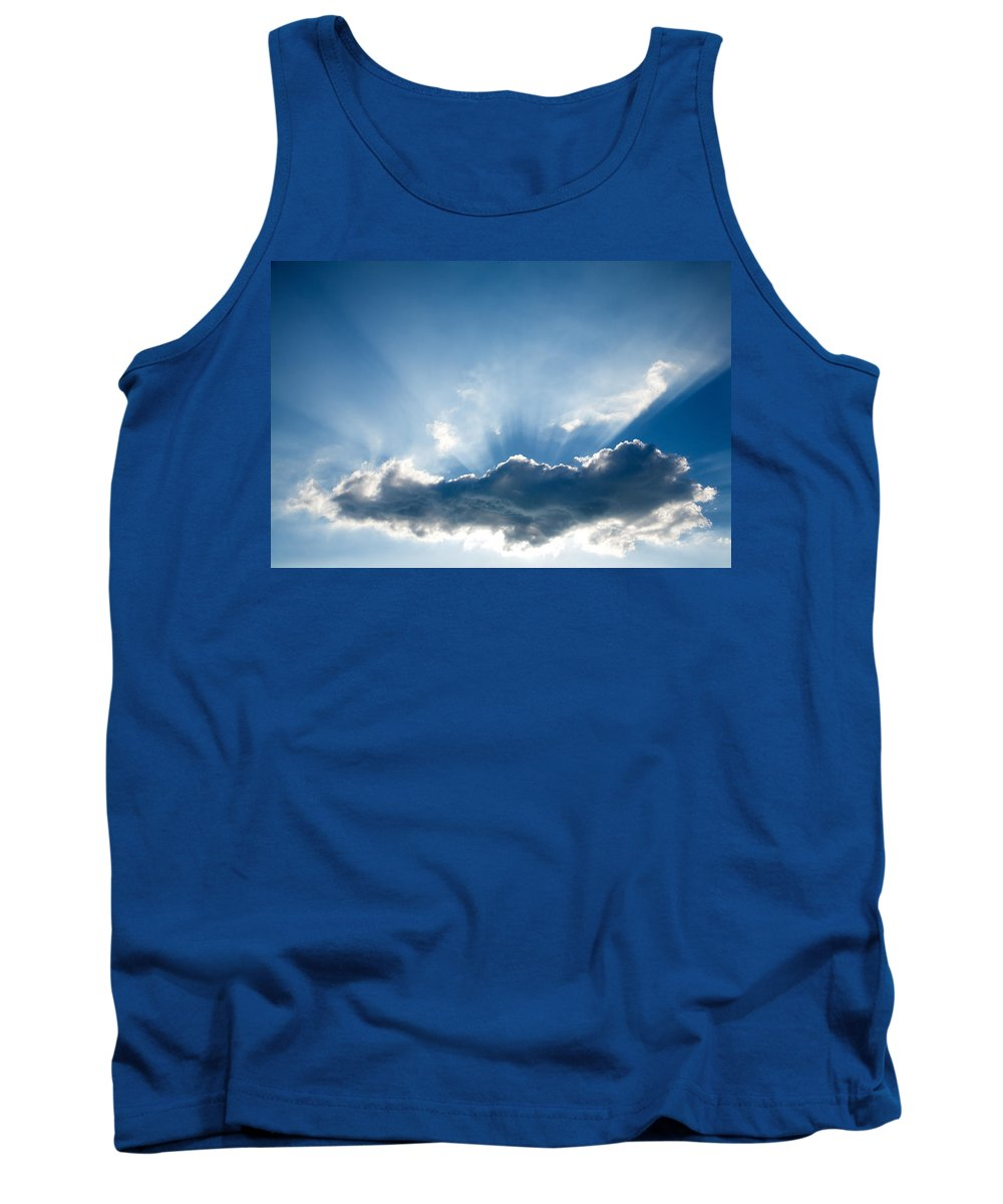 Sun Tank Top featuring the photograph Ray Of Light by Ian Middleton