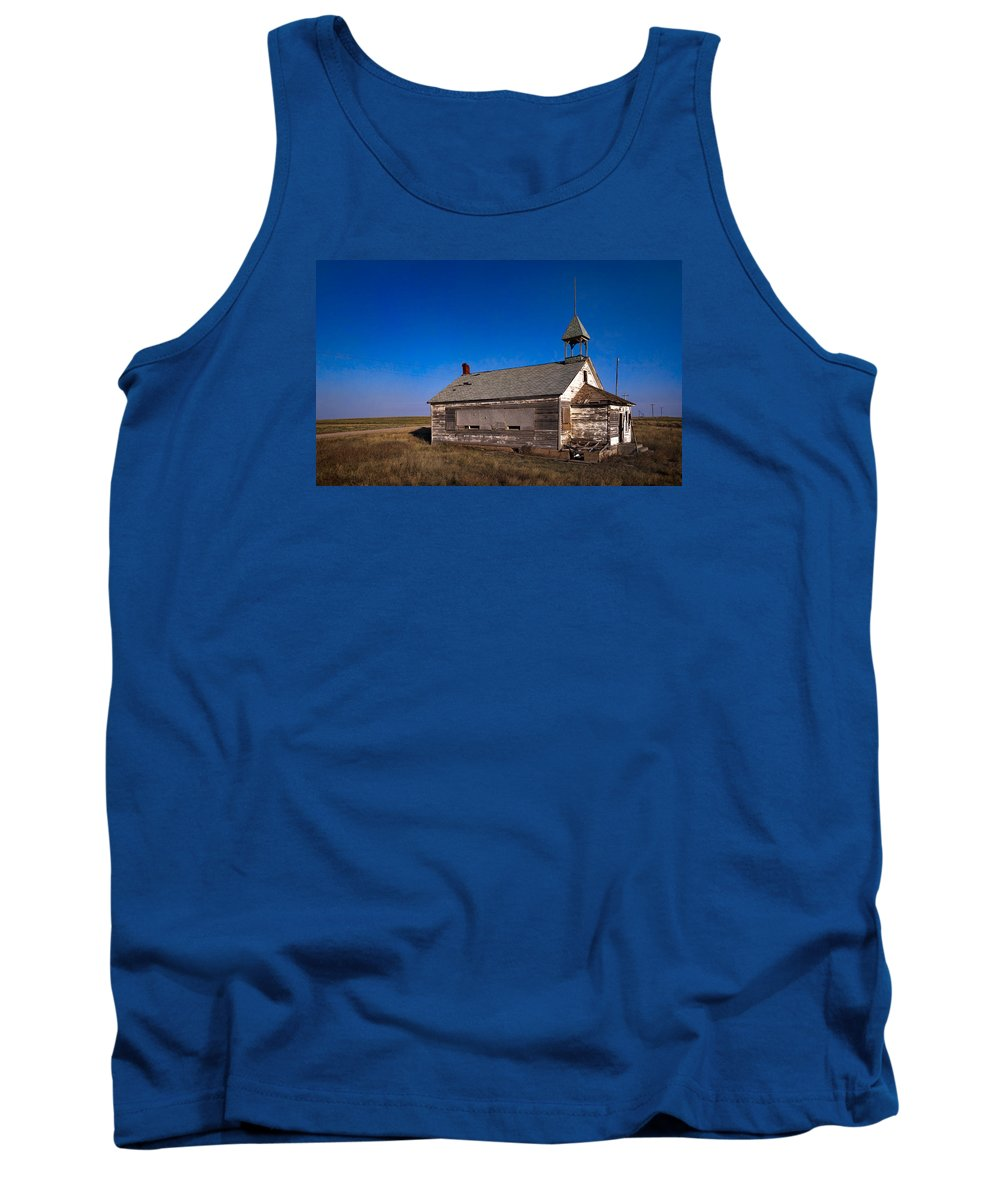 School House Tank Top featuring the photograph School House by Grant Groberg