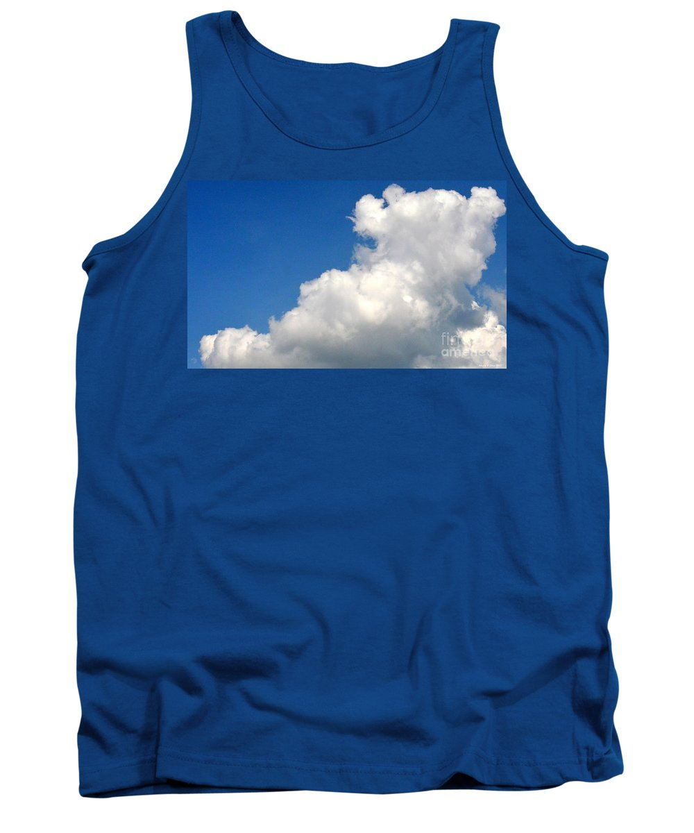 Sleeping Bear Cloud Tank Top featuring the photograph Sleeping Bear Cloud by Maria Urso