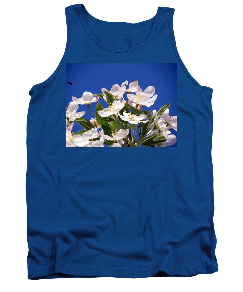 Flower Tank Top featuring the photograph Spring Blossoms by Darleen Stry