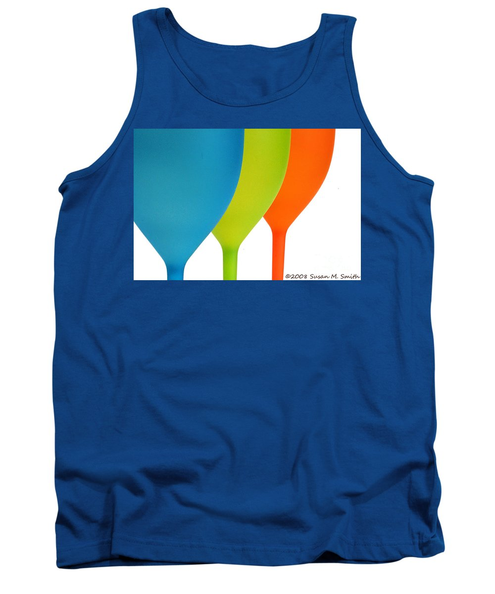 Photograph Tank Top featuring the photograph Three Of Cups by Susan Smith