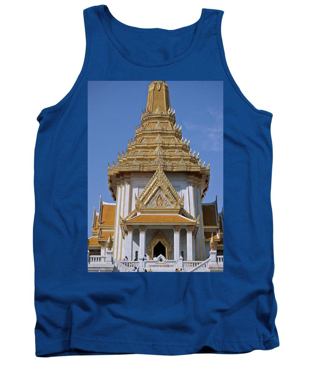Bangkok Tank Top featuring the photograph Wat Traimit Phra Maha Mondop Of The Golden Buddha Dthb1100 by Gerry Gantt