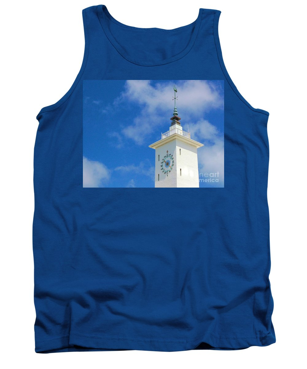 Clock Tank Top featuring the photograph All Along The Watchtower by Debbi Granruth