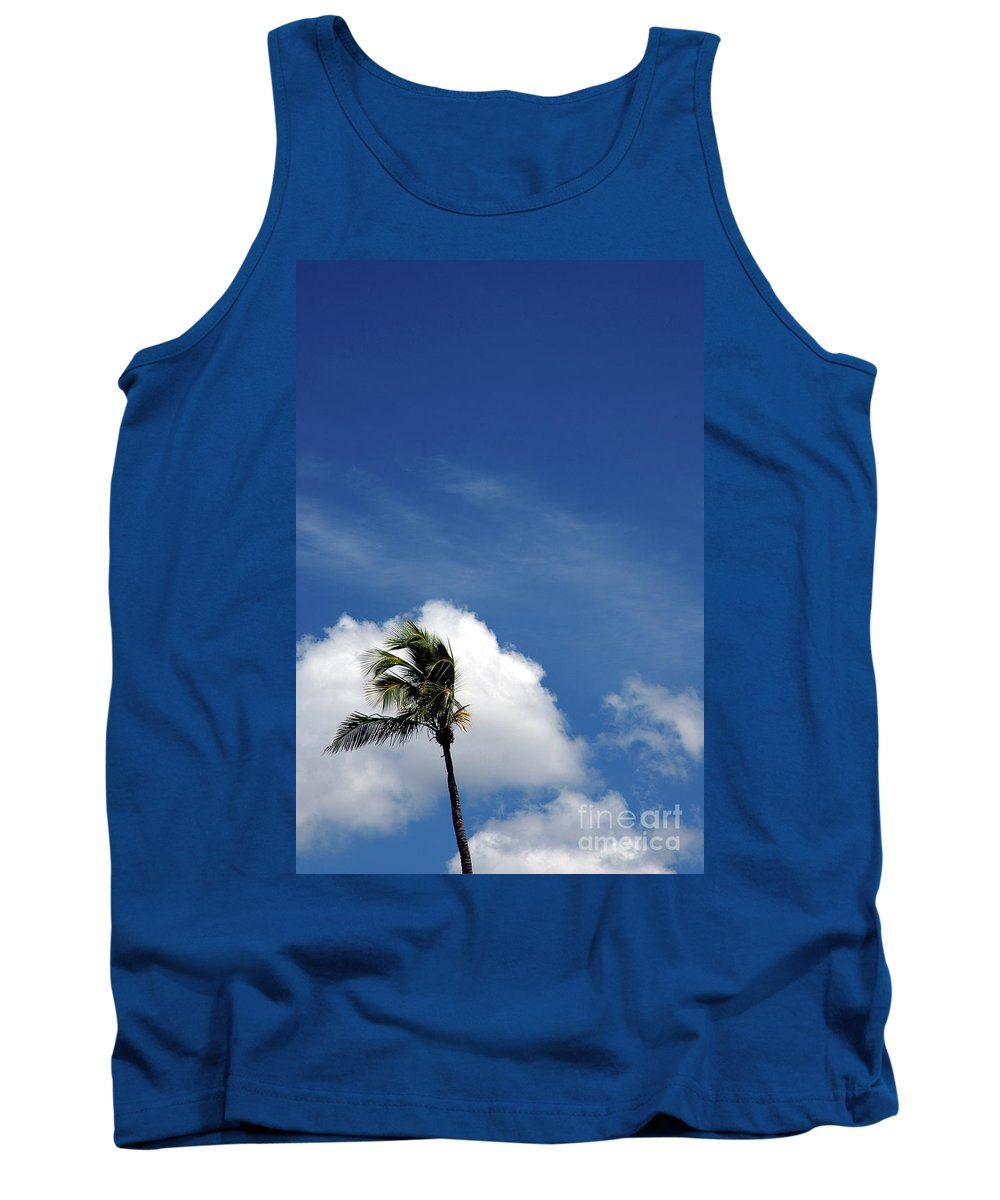 Florida Tank Top featuring the photograph Florida Clouds by Susanne Van Hulst