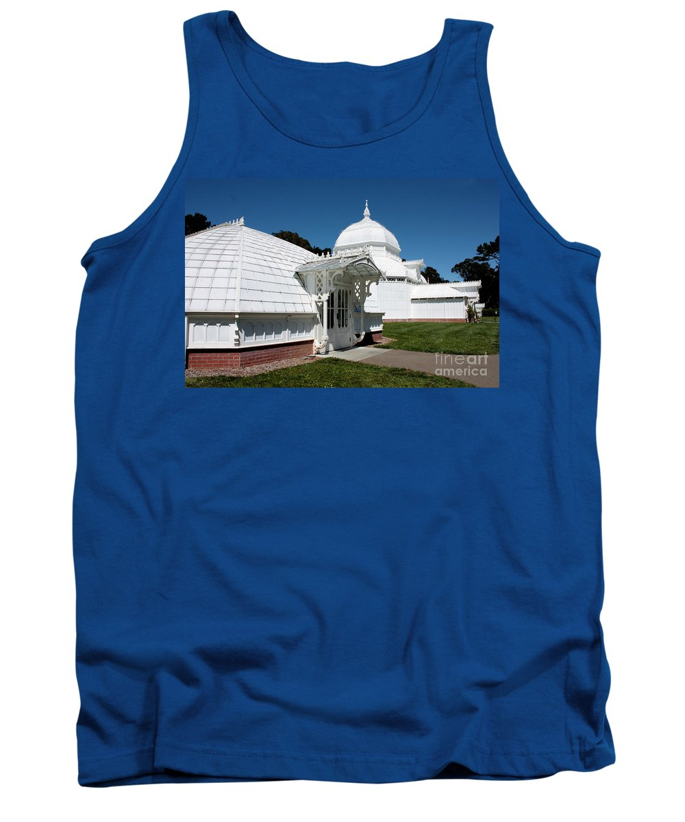 Victorian Tank Top featuring the photograph Golden Gate Conservatory by Carol Groenen