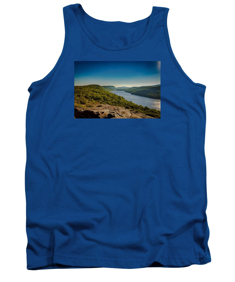 Fall Tank Top featuring the photograph Lake Of The Clouds by Jack R Perry