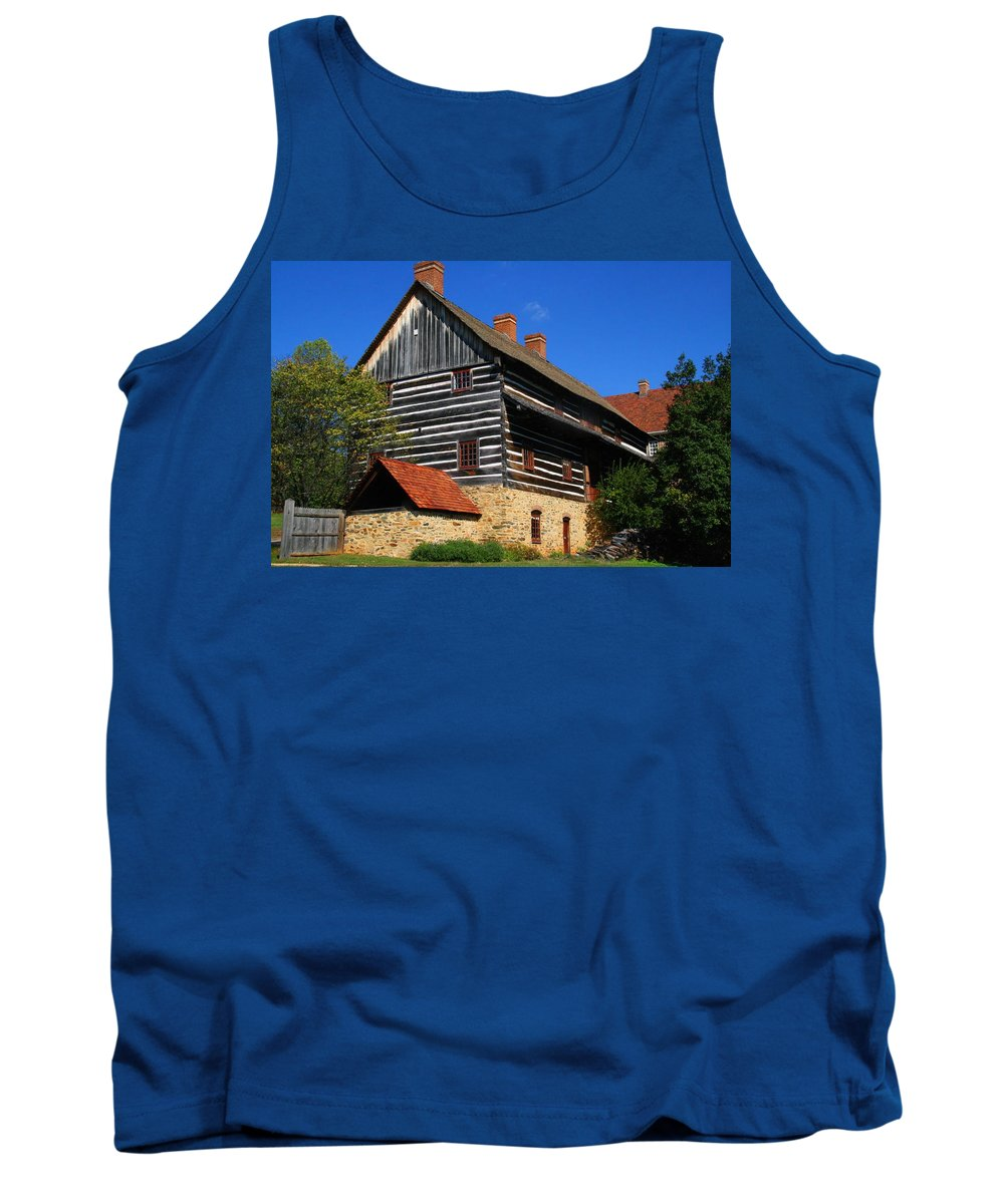 Single Brothers House Tank Top featuring the photograph Single Brothers' House by Kathryn Meyer