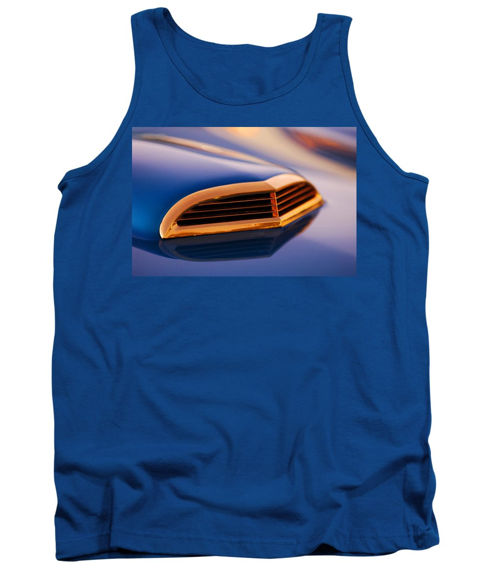 Classic Car Tank Top featuring the photograph 1957 Ford Thunderbird Scoop by Jill Reger