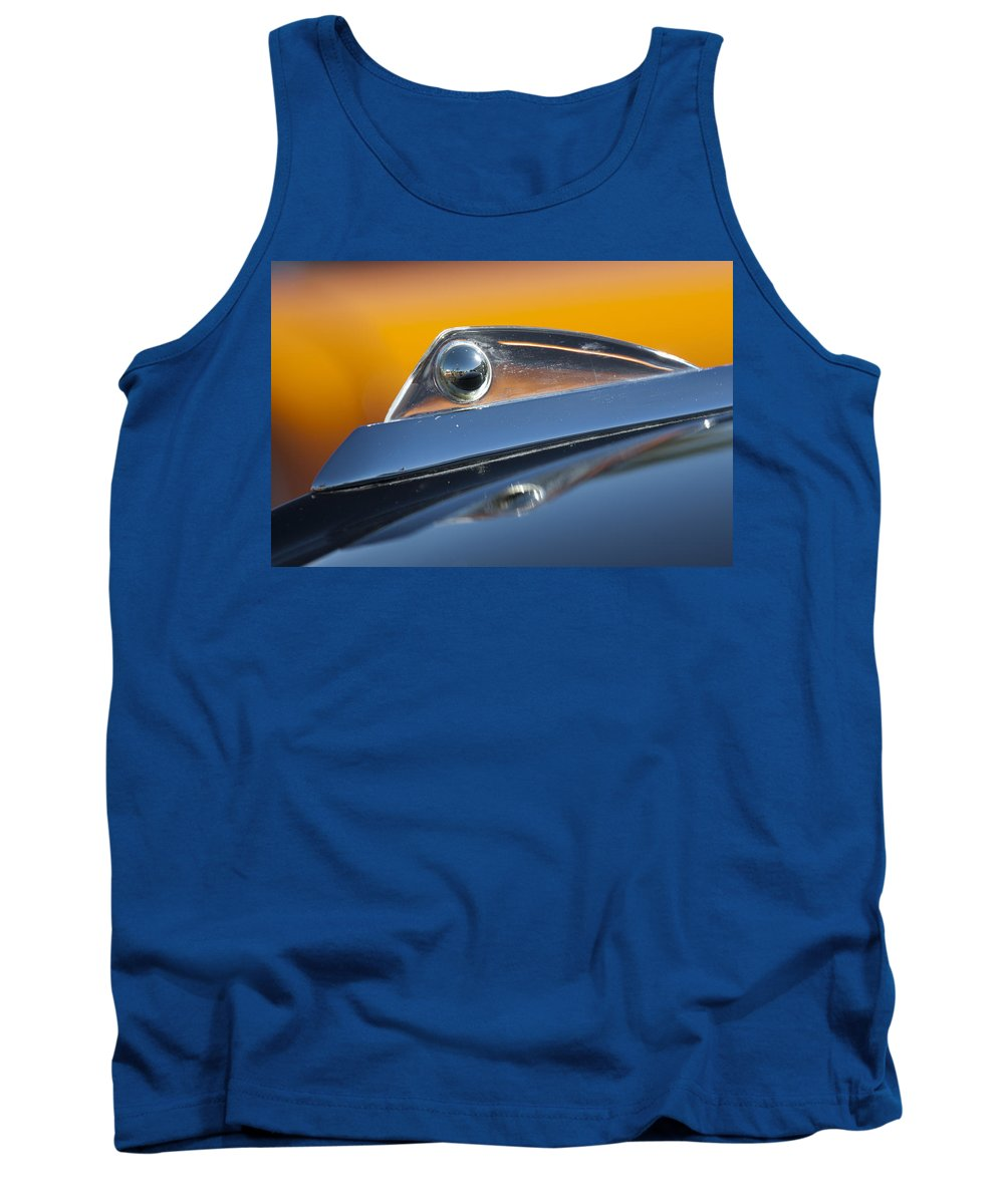 1961 Ford Starliner Tank Top featuring the photograph 1961 Ford Starliner Hood Ornament by Jill Reger