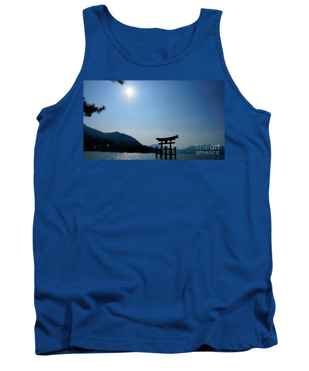 The Water Gate - Japan (itsukushima Shrine) Tank Top featuring the photograph Earth Moments Gallery I by Elohim G