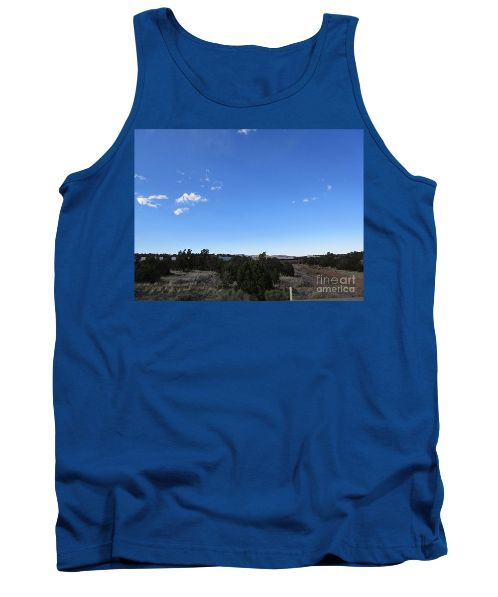 Desert Tank Top featuring the photograph Desert Landscape by Frederick Holiday