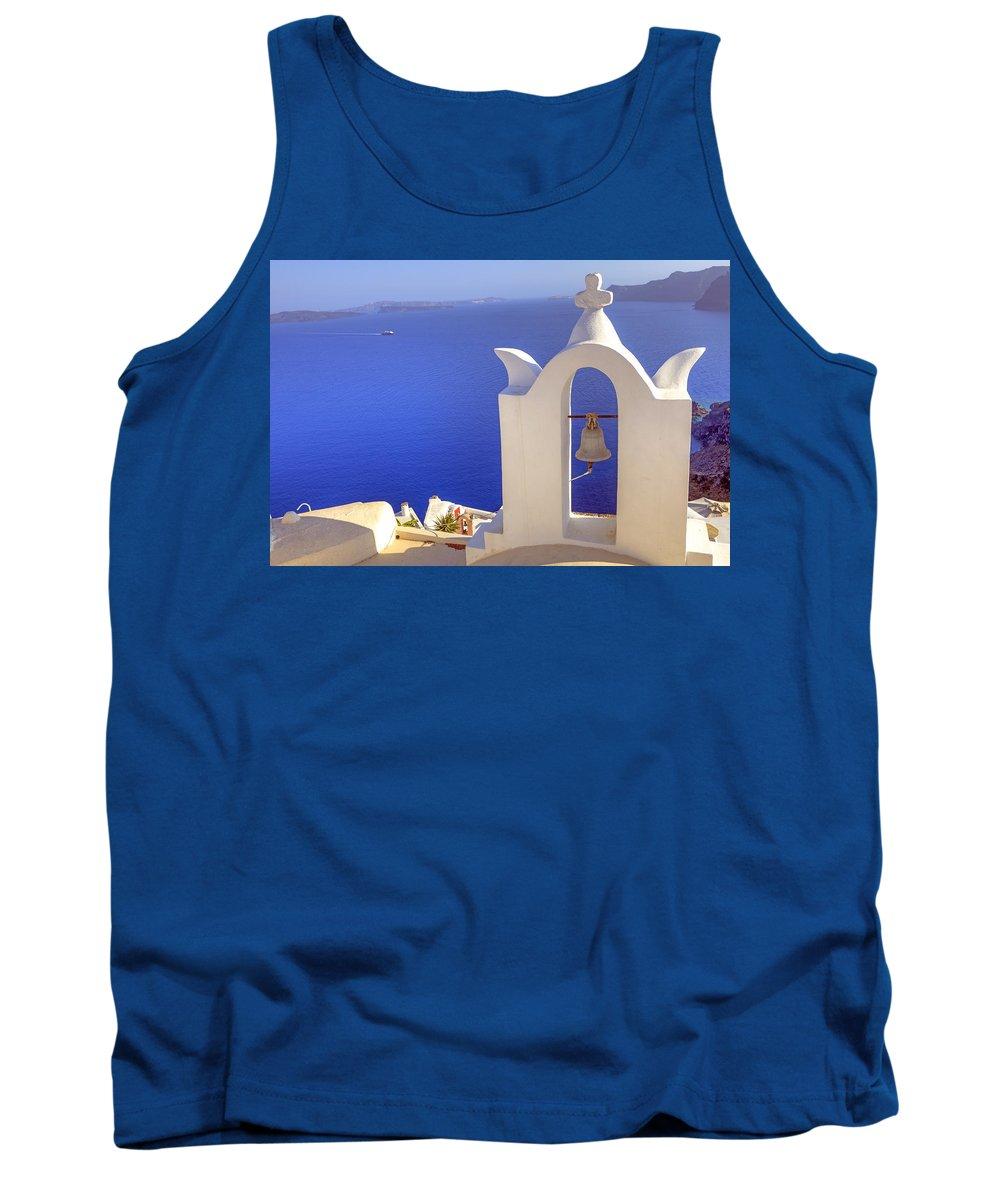 Oia Tank Top featuring the photograph Oia - Santorini by Joana Kruse