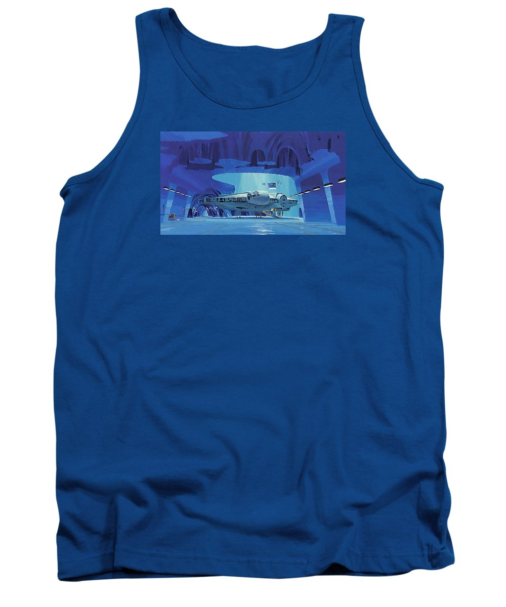 Star Wars Force Tank Top featuring the digital art Imperial Star Wars Poster by Larry Jones
