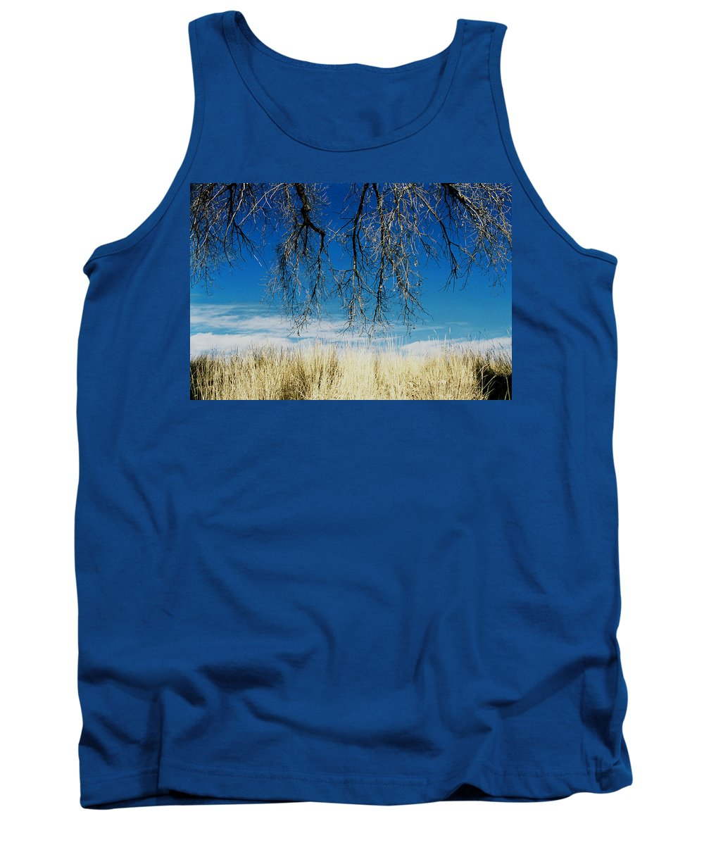 Nature Tank Top featuring the photograph A Comfortable Place by Ric Bascobert