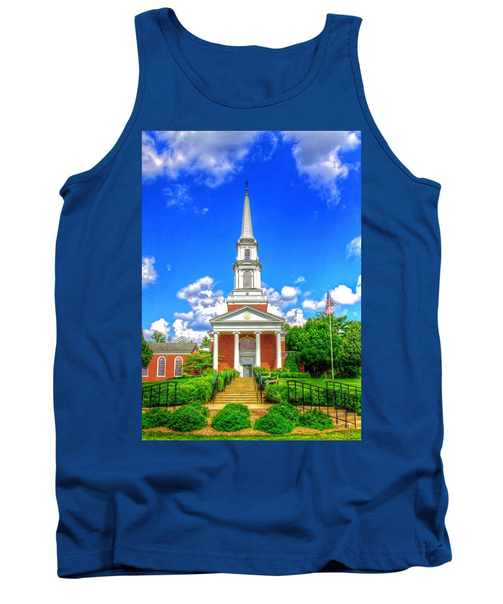 Church Tank Top featuring the photograph A Place To Pray by Robert Pearson