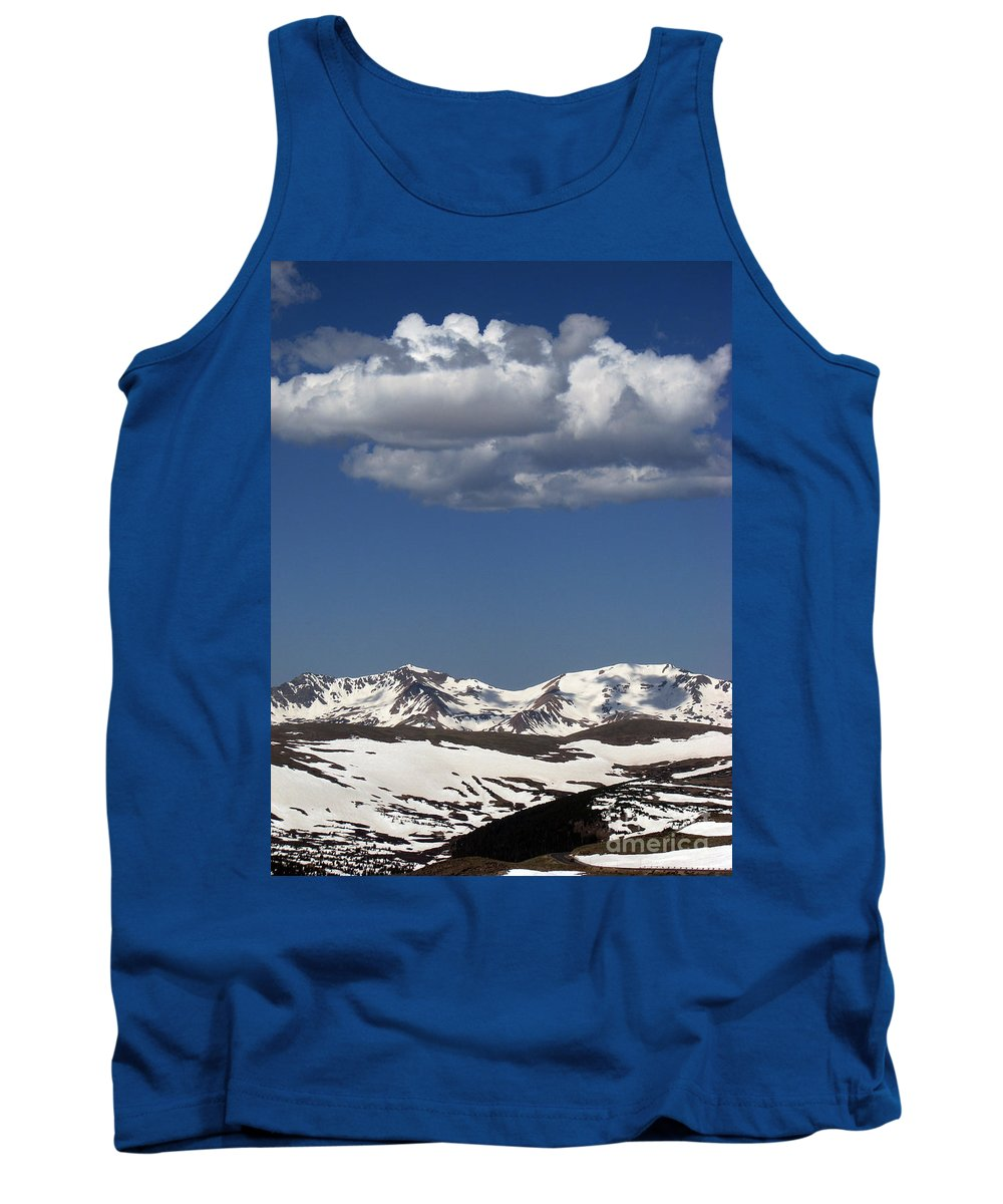 Colorado Tank Top featuring the photograph Above It All by Amanda Barcon