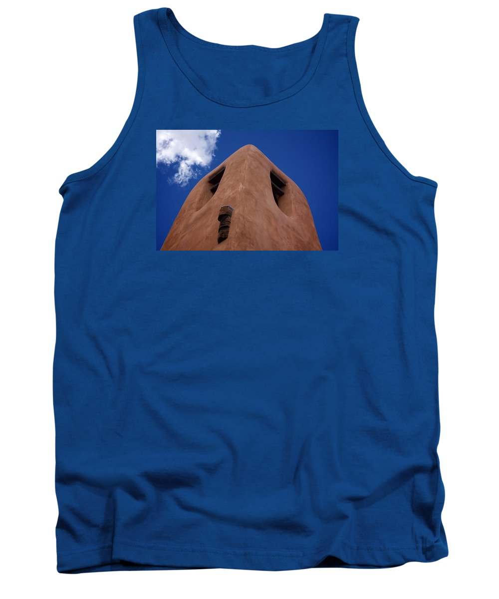 Adobe Tank Top featuring the photograph Adobe by Chris Saulit