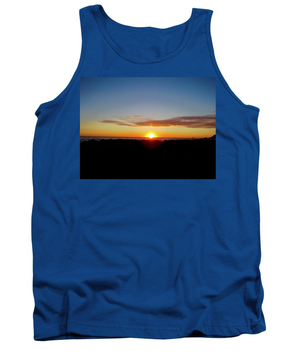 Tank Top featuring the photograph Almost Night Time Oregon by Ryan Crandall